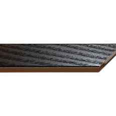 Square wood frame with visible grain. 20mm