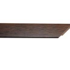 Narrow, square wood frame. 20mm