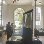 The map room at the R.G.S.