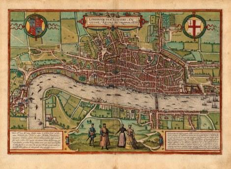 Londinum Feracissimi An: Gliae Regni Metropolis