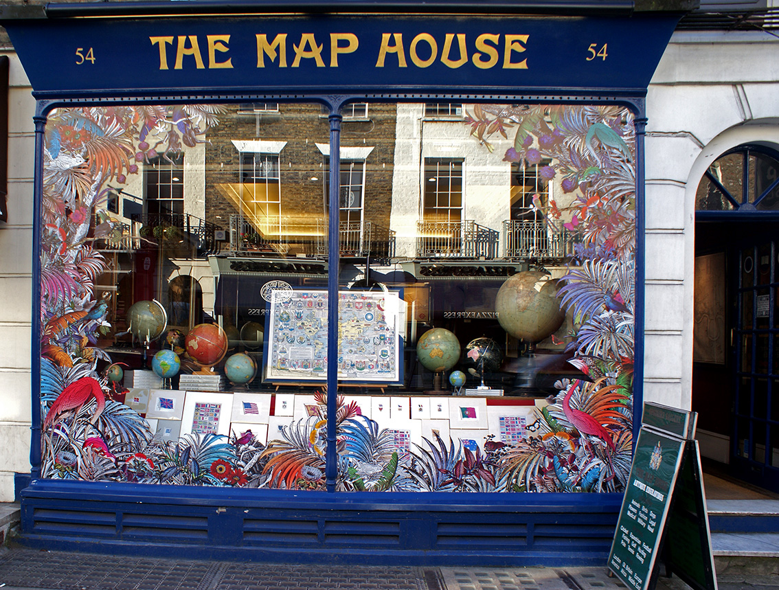 The Map House Cocktails & Cartography – The Beauchamp Place Collective | The Map