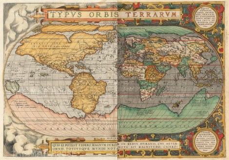 Abraham Ortelius A and B