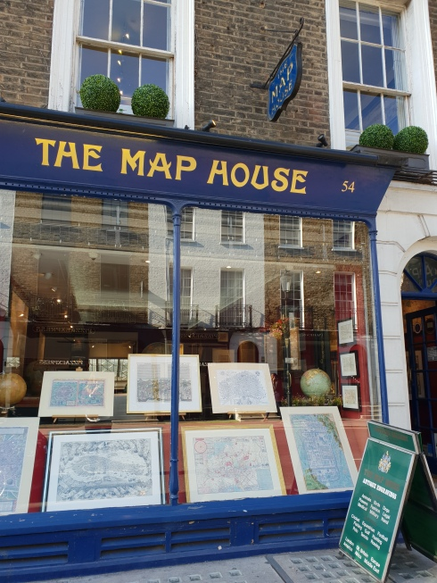 The Map House on Beauchamp Place