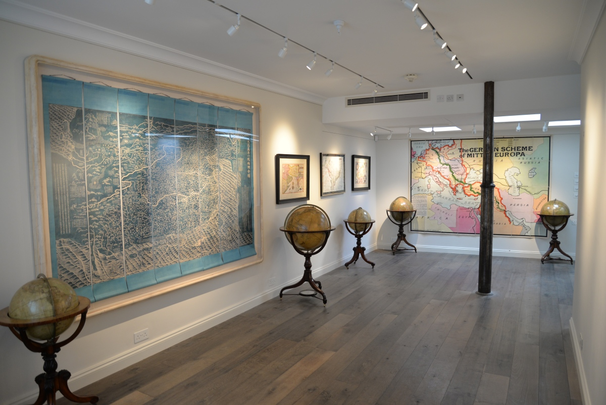 The Map House: Exhibition Gallery
